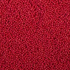 Сахарные шарики малиновые перламутровые 4 мм, 50гр
