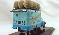 GAZ-51 Van advertising Manufactured goods DIP 1:43