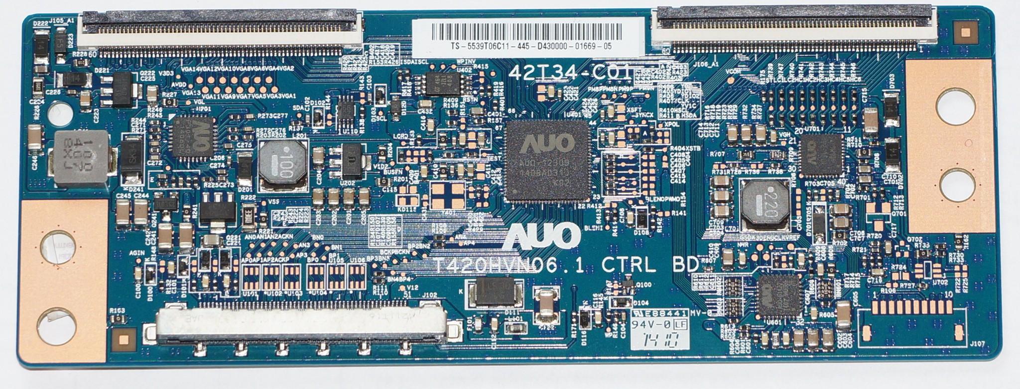 42T34-C01 T420HVN06.1 t-con телевизора LG
