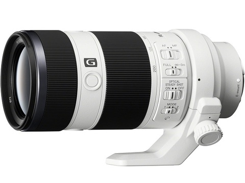 Объектив Sony 70-200mm f/4 G OSS SEL-70200G White для Sony E
