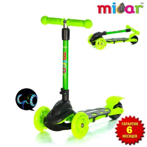 Трехколесный самокат Micar Zumba Mini