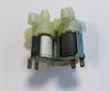 Электроклапан залива воды в дозатор стиральных машин АЕГ / Занусси / Электролюкс с сушкой ( 3 трубки)