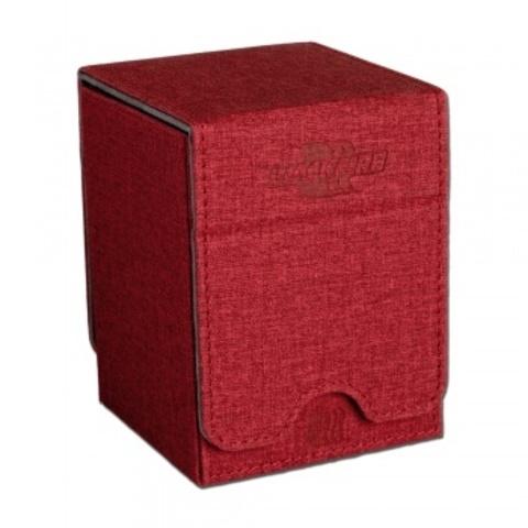 Blackfire Convertible Premium Deck Box Single Vertical 100+ Standard Size Cards - Red