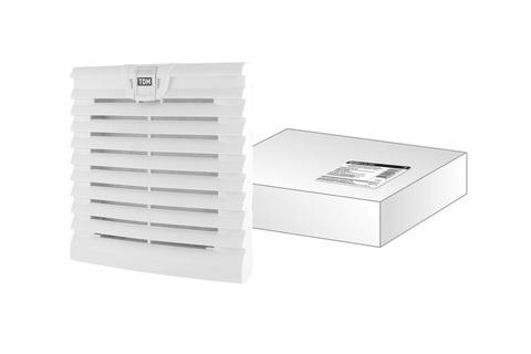 Вентиляционная решетка с фильтром для вентилятора ВФУ SQ0832-0111 (152 мм) TDM