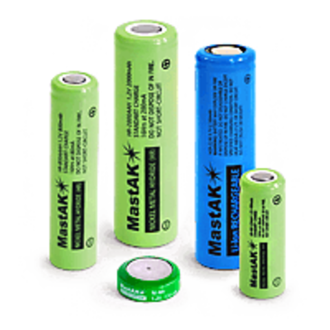 Аккумулятор промышленный MastAK R 06/2bl 2400mAh Ni-MH (14.3*49.5)