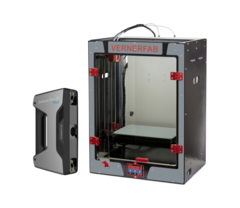 3D-принтер Vernerfab A4 с дополнительными модулями + 3D-сканер Shining 3D Einscan Pro 2x plus c Solid Edge под заказ