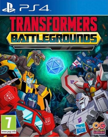 Transformers: Battlegrounds (PS4, русские субтитры)