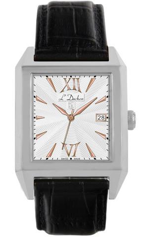 Купить Мужские швейцарские наручные часы L'Duchen D 431.11.13 по доступной цене