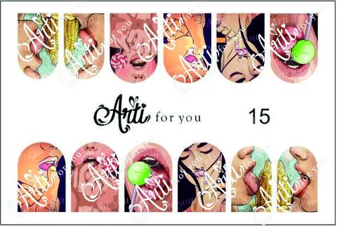 Слайдер наклейки Arti for you №15 купить за 100руб