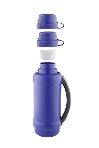 Уценка! Термос Thermos 34 серия (1,8 литра) стеклянная колба, синий