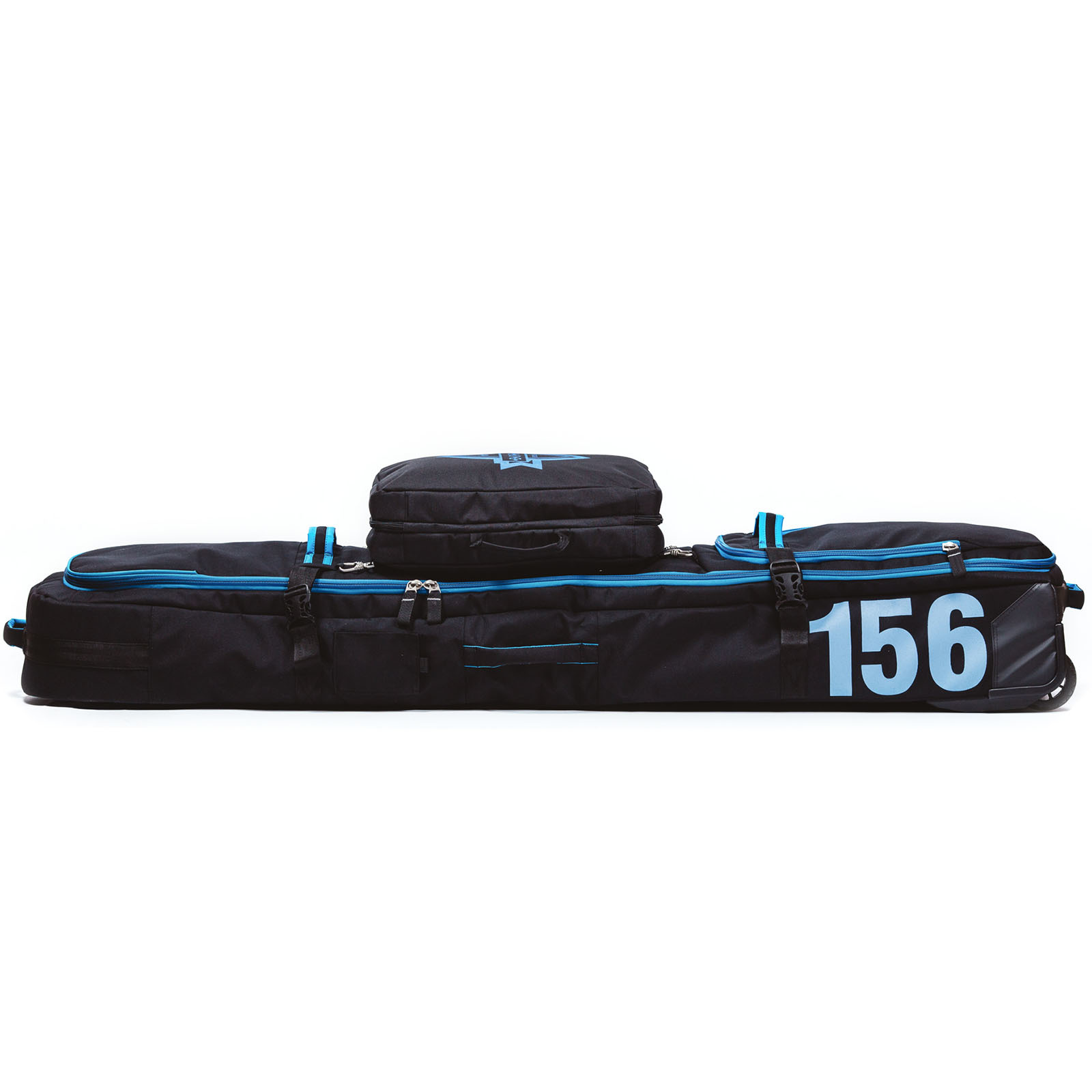 Чехол для сноуборда Born на колесах 156/166 см Черный/голубой (0099990)