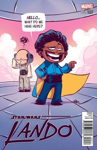 Star Wars Lando #1 Cover B Variant Skottie Young