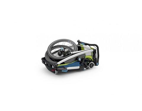 Картинка коляска Thule Chariot Sport2 салатовая  - 3