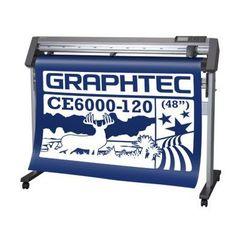 Рулонный режущий плоттер Graphtec CE6000-120 Plus