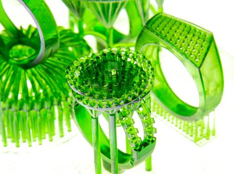 Фотополимер FlashForge Castable, зеленая