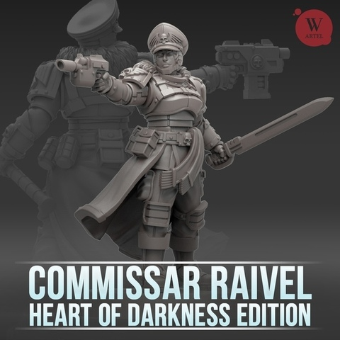 Commissar Raivel HoDE