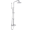 Душевая система с термостатом и тропическим душем для ванны DRAKO 335602RM250 - фото №1
