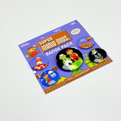 Набор значков Super Mario Bros.