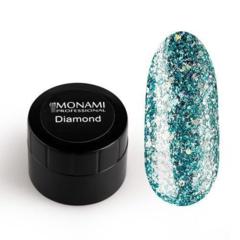 Гель-лак Diamond Skyfall (платиновый) 5 гр Monami