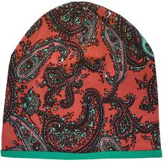 Женская шапочка бини с принтом Пейсли (огурцы)