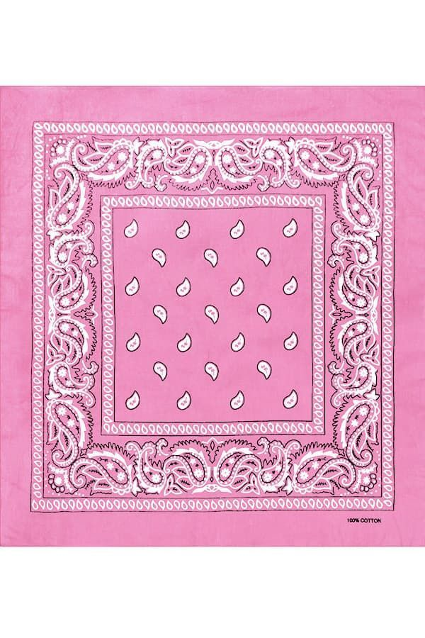 Розовая бандана фото