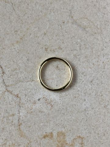 Кольцо Минималиста, позолота