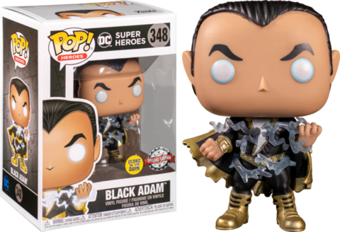 Фигурка Funko Pop! Heroes: Black Adam (GitD) (Excl. to Big Apple Collectibles)