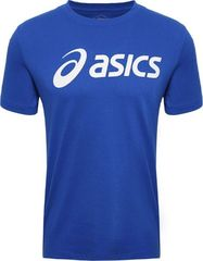 Футболка беговая Asics Big Logo Tee Blue мужская