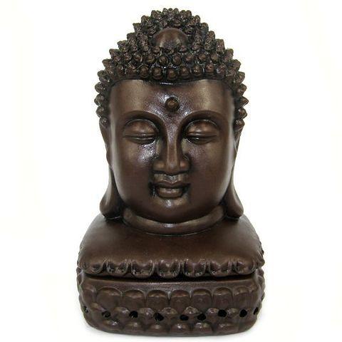 Подставка под благовония - конусы Buddha, 16 см, керамика