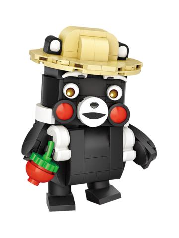 Конструктор LOZ mini Кумамон 230 деталей NO. 1466 Kumamon MiniBlock