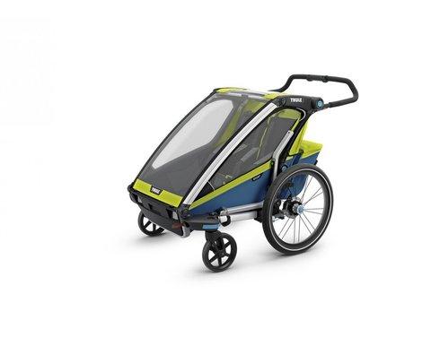 Картинка коляска Thule Chariot Sport2 салатовая  - 1