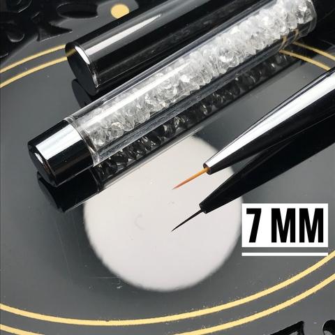Кисть для прорисовок тонких линий и вензелей 7 mm