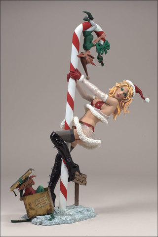 Monsters Series 5 - Twisted X-Mas Tales Mrs. Claus no pack