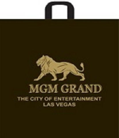 Пакет полиэтиленовый с логотипом МГМ с ручкой 60х50+11 (60)