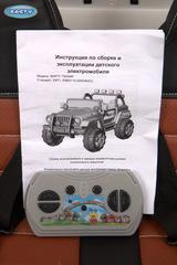 Jeep Wrangler Т555МР (Полноприводный) www.avtoforbaby-spb.ru