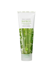 Очищающая пенка с бамбуком, HOLIKA HOLIKA, Daily Garden Bamboo Soothing cleansing foam from Damyang 120мл