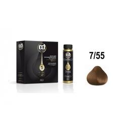 Constant Delight, Масло для окрашивания волос Olio Colorante 7.55, 50 мл