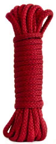 Красная веревка Tender Red - 10 м.