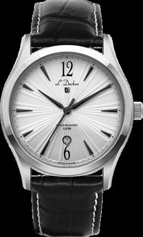 Купить Мужские швейцарские наручные часы L'Duchen D 161.11.25 по доступной цене