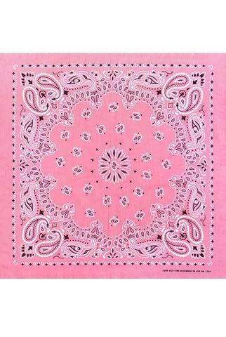 Розовая бандана на шею фото