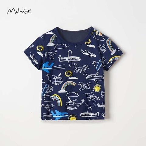 Футболка для мальчика Malwee Самолеты