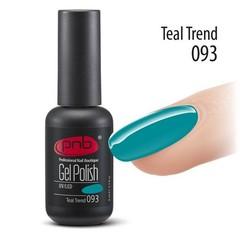 Гель-лак PNB №093 Teal Trend, 8 мл