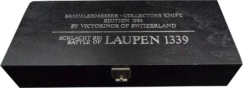 Нож Victorinox Laupen LE, коллекционный, 91 мм, 13 функций, черный (подар. упаковка)