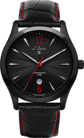 Купить Мужские швейцарские наручные часы L'Duchen D 161.71.25 по доступной цене