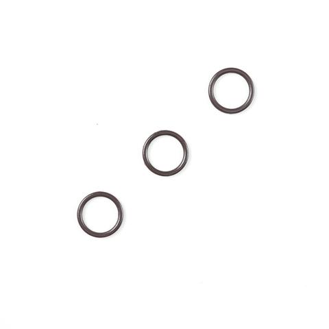 Кольцо для бретели шоколад 10 мм (цв. 111)