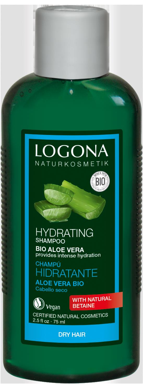LOGONA Шампунь для увлажнения волос с Био-Алоэ Вера