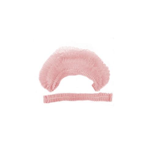 Шапочка-клип спандбонд 100 шт, розовая