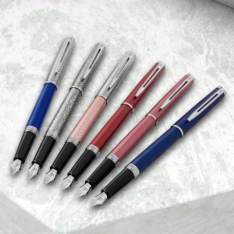 Перьевая ручка Waterman Hemisphere Deluxe Blue Wave123