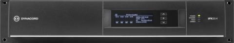 DYNACORD IPX20: 4 підсилювач потужності