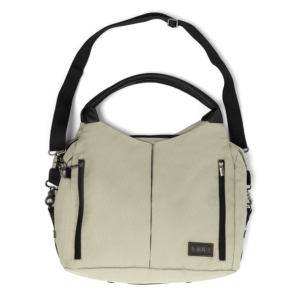 Сумки для коляски Moon Сумка Messenger Bag Moss Grey 68010042-206-WICKELTASCHE-TREND-MOSS-GREY-FRONT.jpg